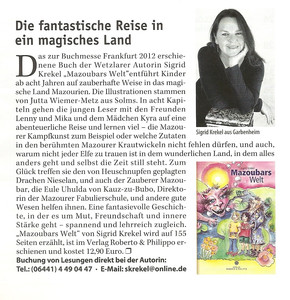Rezension in Lahn-Dill-Regio